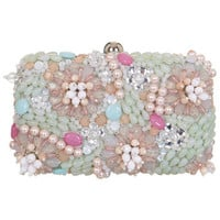 Flower Embellished Hardcase - Bags - Accessories