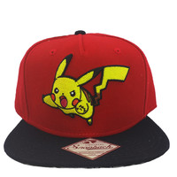 Pokemon - Pikachu Color Block Snapback