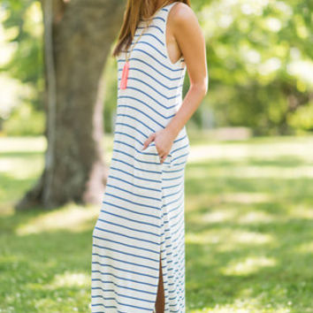 Loved You All Along Maxi Dress, Ivory