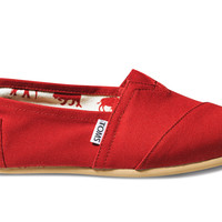 TOMS Classic Women Red