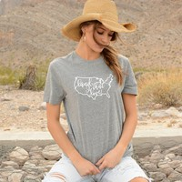 Land that I love! 4th of July tee