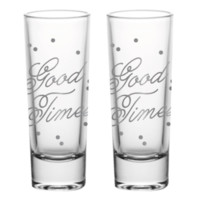 Good Times shot glass