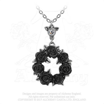 Alchemy of England Ring of Roses Pendant