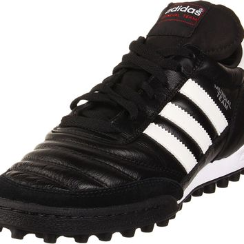 adidas Performance Mundial Team Turf Soccer Cleat Black / White 11.5 D(M) US '