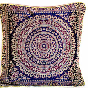 Decorative Throw Pillow Cover Pillow Boho decor Gypsy decor Indian decor Moroccan decor moroccan pillow black boho pillow gypsy pillow