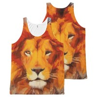 The Mane Event All-Over Print Tank Top