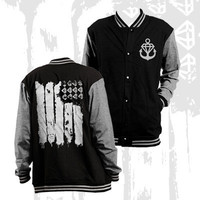 Stay Sick Clothing - Flag Letterman (Black)