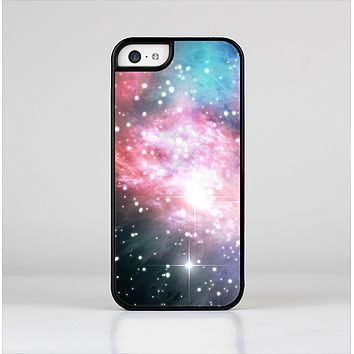 The Colorful Neon Space Nebula Skin-Sert Case for the Apple iPhone 5c