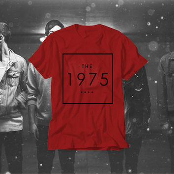 Free Shipping! The 1975 Band T-Shirt! Music T-shirt