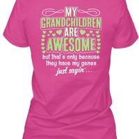 Grandma Shirt - Awesome Grandchildren