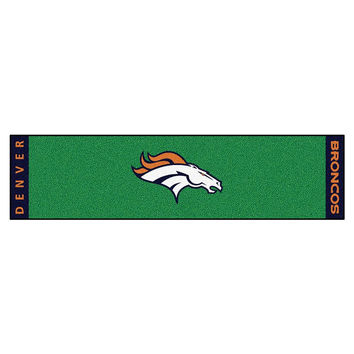 Denver Broncos NFL Putting Green Runner (18x72)
