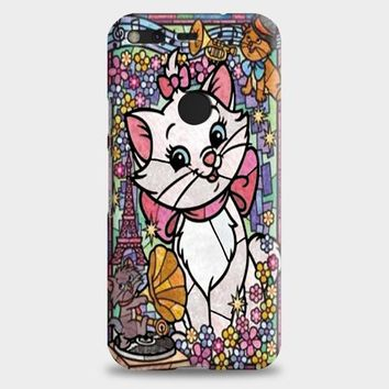 Marie Cat DisneyS The Aristocats Stained Glass Google Pixel XL Case