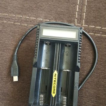 E-cigarette battery charger