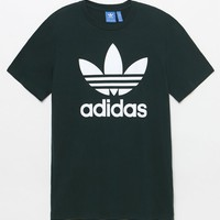 adidas Trefoil Green T-Shirt at PacSun.com