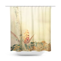 Ethereal Butterfly Shower Curtain