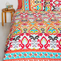 Boho Read It Cover to Color Quilt Set in Full, Queen by ModCloth
