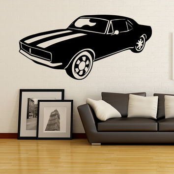 Vinyl Wall Decal Sticker Classic American Car #OS_MB525