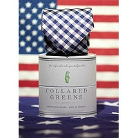The Quad Tie in Navy/White by Collared Greens