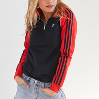 adidas Originals 1/2 Zip Track Jacket | Urban Outfitters