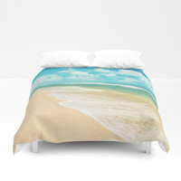 Hawaiian dream Duvet Cover by sylviacookphotography
