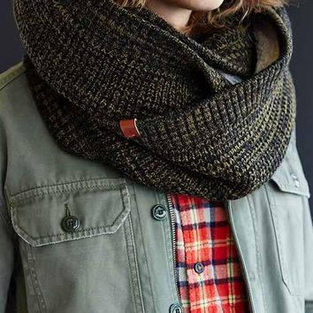 Bickley + Mitchell Fleece-Lined Scarf-