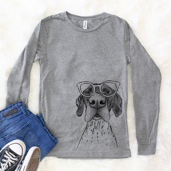 Booze the German Shorthaired Pointer - Long Sleeve Crewneck