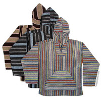 Mexican Poncho Pullover Baja Youth Hoodie on Sale for $17.95 at HippieShop.com