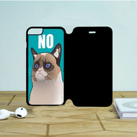 Cactus The Cranky Cat iPhone 6 Flip Case Dewantary