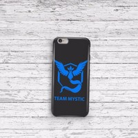 Pokemon Go Team Mystic iPhone 5 5c 6 6plus and Samsung Galaxy S5 Case