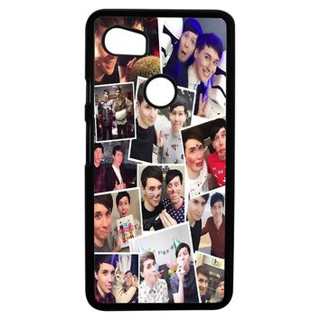 Dan And Phil Collage Google Pixel 2XL Case