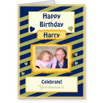 Birthday card Any occasion Male