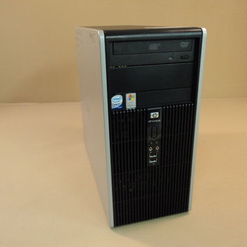 HP Compaq Desktop Computer 1.57GHz And 2.13GHz Hard Drive 80GB Microtower DC5700 -- Used