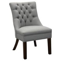 Winslow Tufted back Chair - Gray - Threshold™