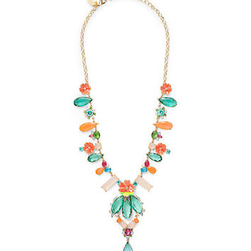 garden party statement necklace