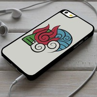 Avatar The Last Air Bender Element iPhone 4/4s 5 5s 5c 6 6plus 7 Case