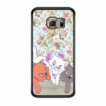 super popular 3f16c 84e0d Disney Cats Samsung Galaxy S6 Edge Case