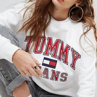 Tommy Jeans Cotton Crewneck sweater I