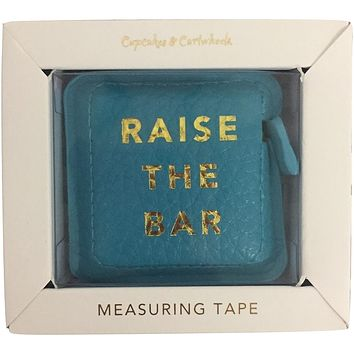 Raise The Bar Boss Girl Gold Hot Stamped Measuring Tape in Gift Box