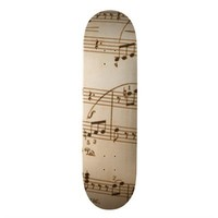 Music Skateboard from Zazzle.com
