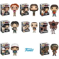 Pop! TV: Stranger Things Eleven, Mike, Dustin, Lucas, Will, Barb, Joyce and Demogorgon! Set of 8