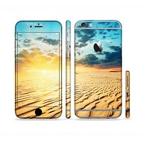 The Sunny Day Desert Sectioned Skin Series for the Apple iPhone 6