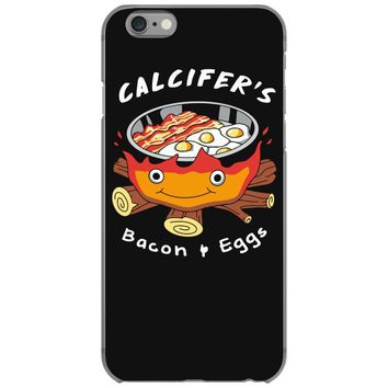 calcifer's bacon and eggs iPhone 6/6s Case