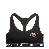 University Of Colorado Sporty Bra - PINK - Victoria's Secret