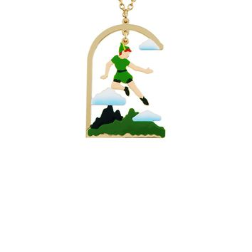 "N2 by Les Néréides FLY WITH ME ""How to jump on the wind's back"" SHORT NECKLACE"