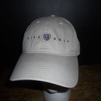 DCCK2JE Nike Golf Tan Hat Cap One Size