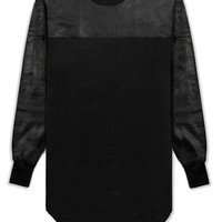 Battle Armour Leather LS Long Tee