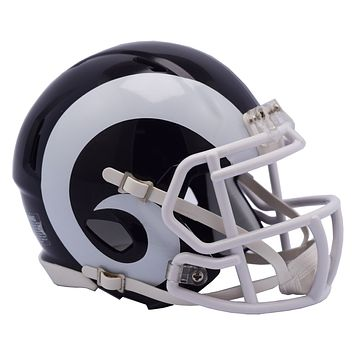 Los Angeles Rams Riddell Full Size Replica Helmet -  Speed Style