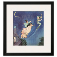 Away They Floated Framed Print