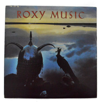 Vintage 80s Roxy Music Avalon Album Record Vinyl LP