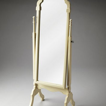 Butler Specialty Cottage White Cheval Mirror - 1911222